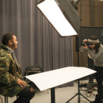 Media Arts & Technology - Photography Students in the Studio