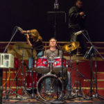 Photo of Drummer During Concert Taken by MWCC Photography Student