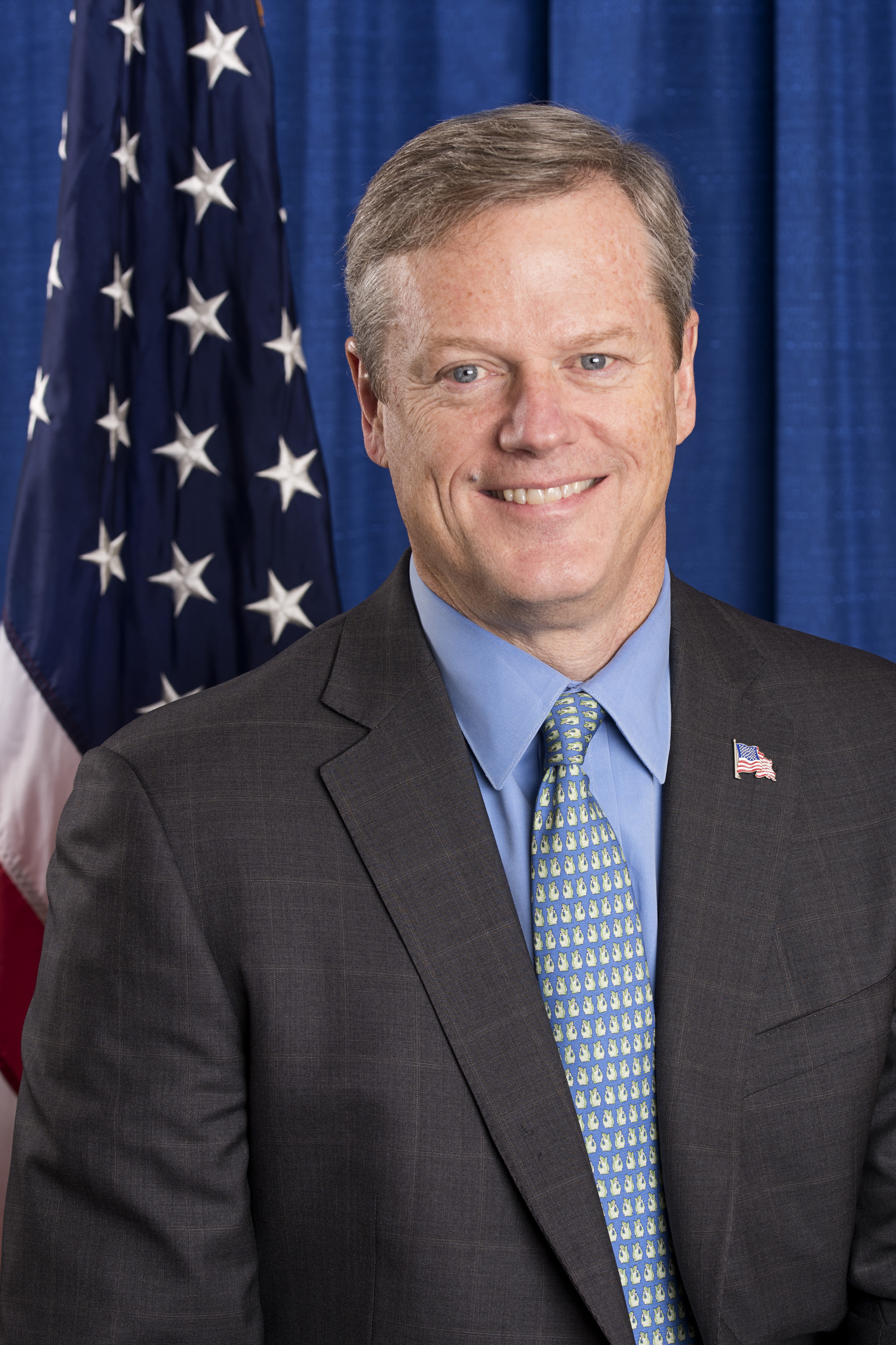 Governor Charlie Baker Headshot