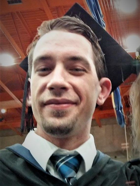 Timothy Whalen Graduation Selfie